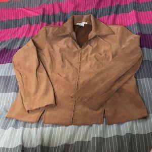 Vintage Notations zipper jacket size Medium NWOT